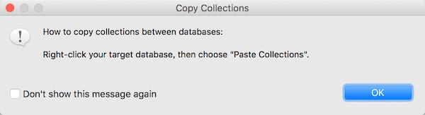 MongoDB如何复制collection里的数据到另一个collection方法总结