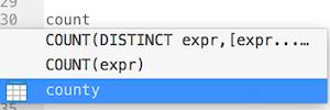 MySql 中聚合函数增加条件表达式