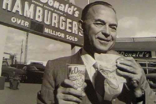 52岁穷困潦倒,70岁世界首富,金拱门(麦当劳)创始人的故事