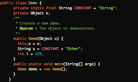 IntelliJ IDEA 设置彩色代码主题