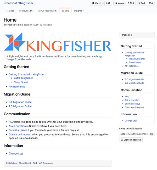 GitHub Wiki 页面的添加和设置