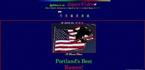 曾经那些90年代毁三观的网站,你能看到第几个?