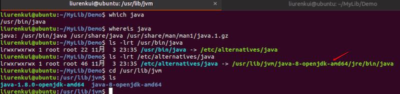 Linux下查看JDK安装路径
